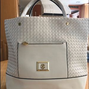 Christan Larcriox White Bag